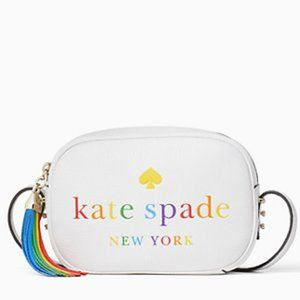 Kate Spade || Rainbow logo camera bag
